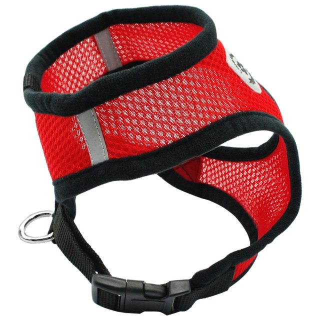 Soft Breathable Nylon Dog Harness and Leash Set