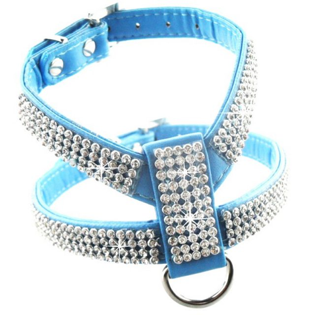 Rhinestone Dog's Walking Harness
