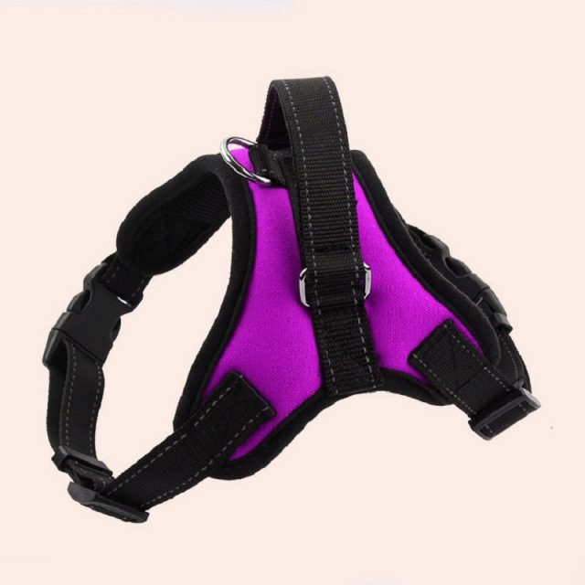 Large Dog Harness with Reflective Strips