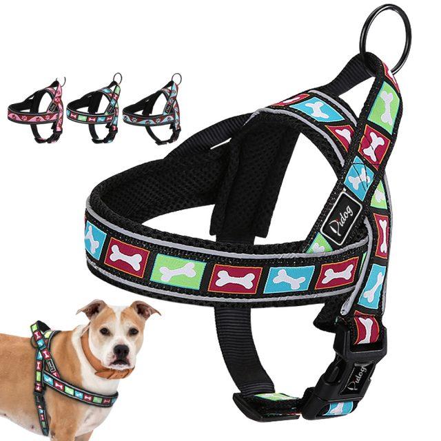 Reflective Nylon Large Dog's Harness
