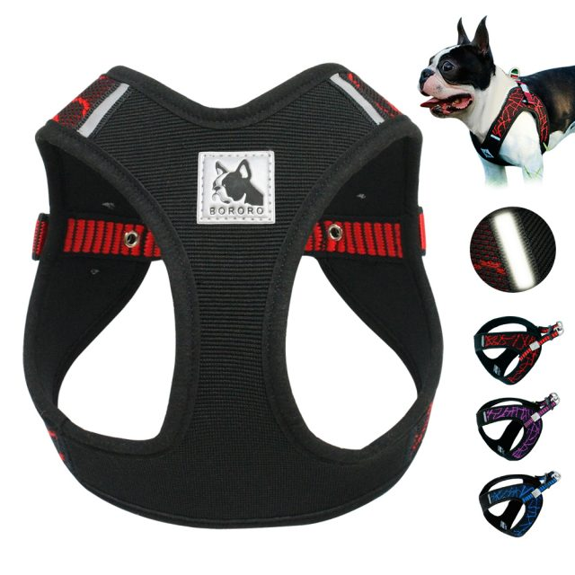 Nylon Adjustable Step-in Pet Harness